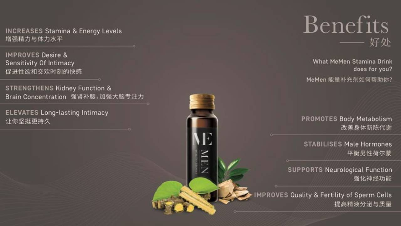 Memen Stamina Drink Benefits